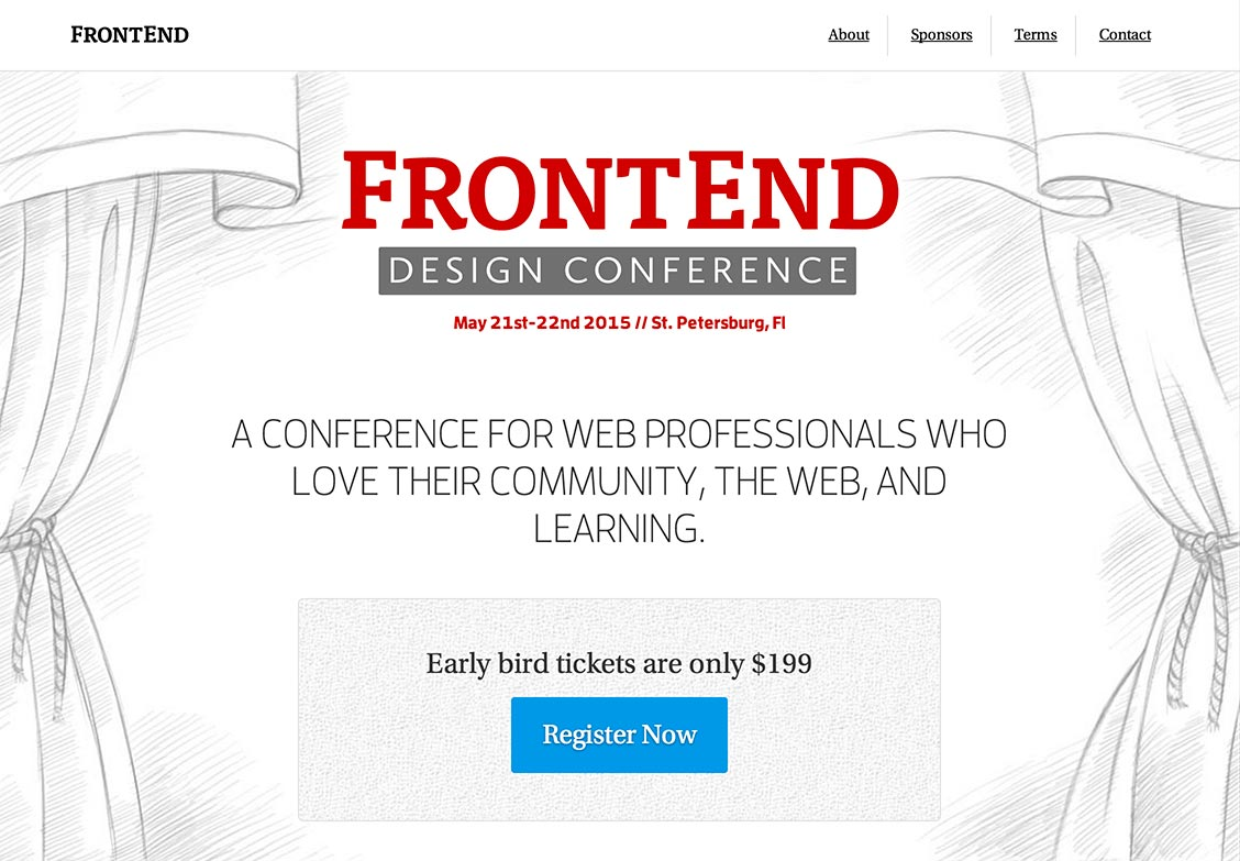 FrontEnd Design Conference