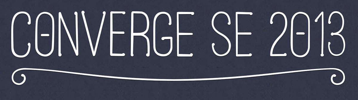 The ConvergeSE 2013 Logo
