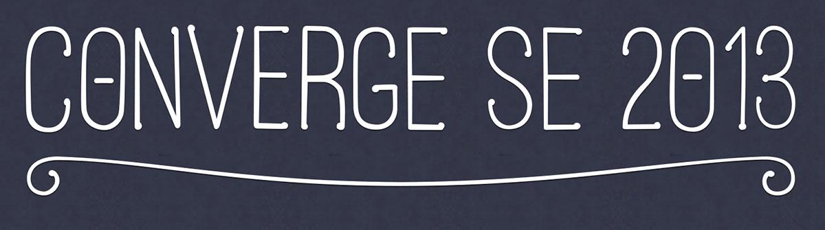 The ConvergeSE 2013 Logo